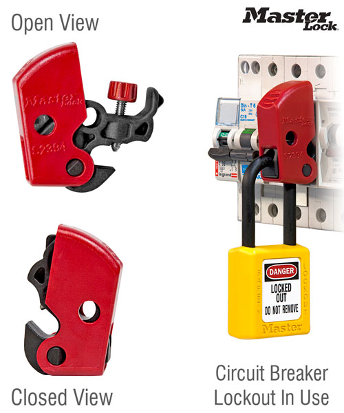 Universal Miniature Circuit Breaker Lockout
