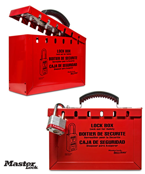 Portable Group Lock Out Box