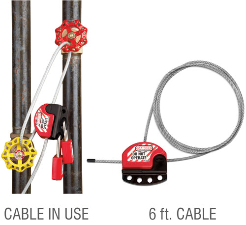 Adjustable Cable Lockout