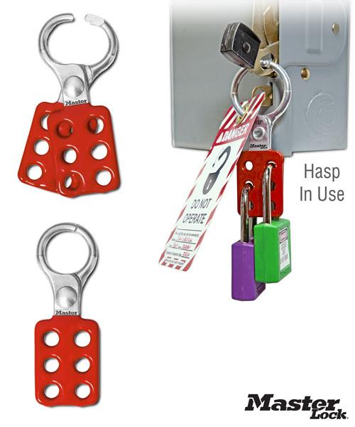 Aluminum Lockout Hasp