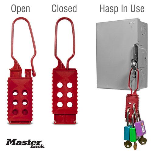 Nylon Non-Conductive Lockout Hasp