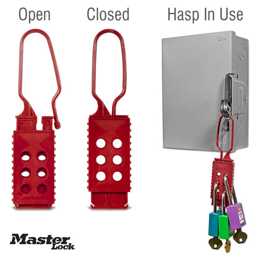 Nylon Non-Conductive Lockout Hasp