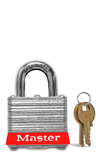 Keyed Different Steel Padlock