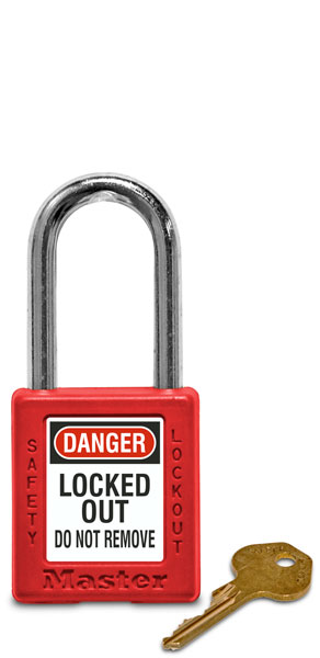 Keyed Different Safety Padlock