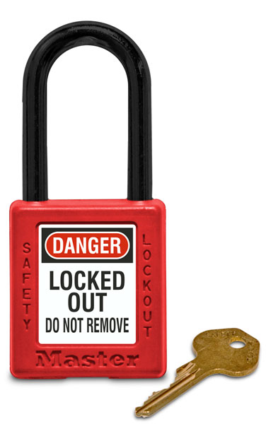 Keyed Different Plastic Safety Padlock