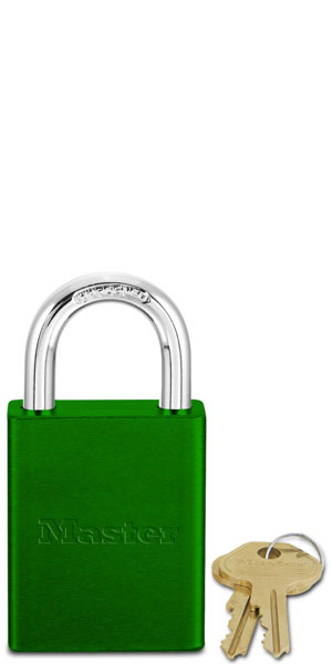Keyed Different Aluminum Padlock