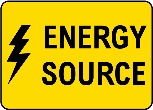 Energy Source Label