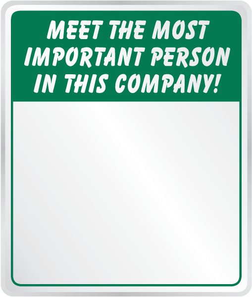 Meet The Most Important Person In This Company Mirror