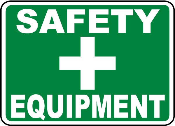 Safety Equipment Sign
