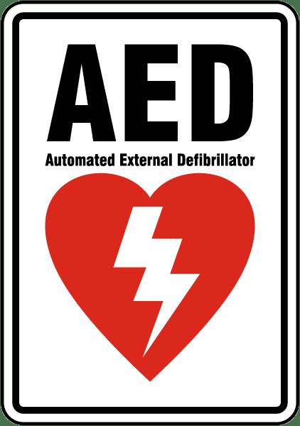 AED Label