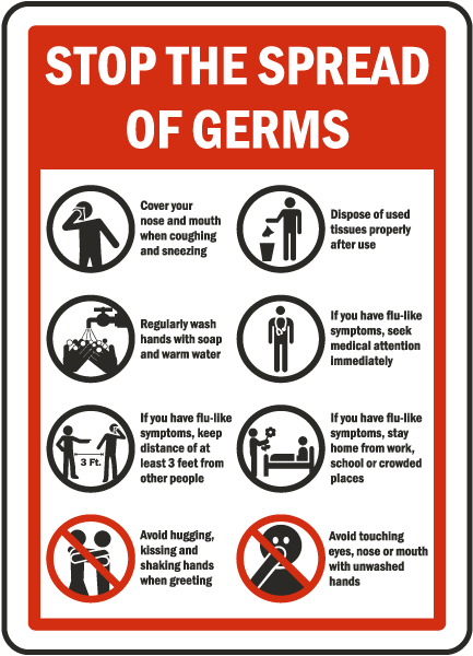 Related pictures stop the spread of germs