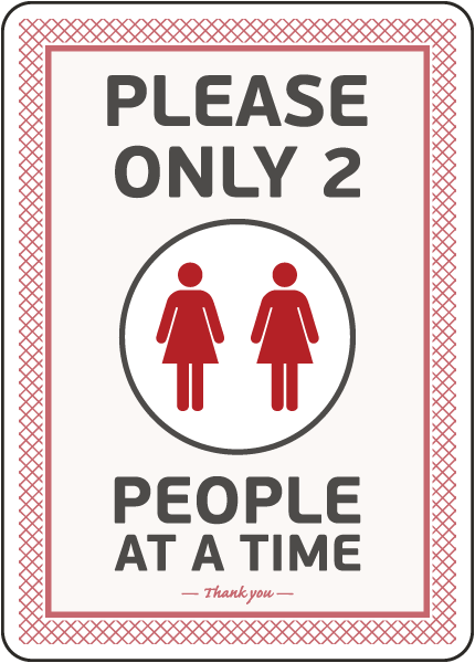 Please Only Two People Sign