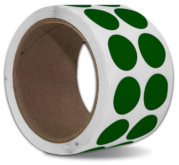 Green Floor Marking Dots