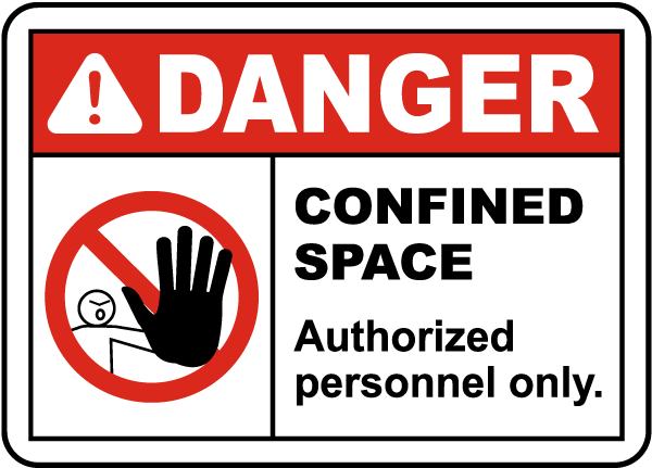 Danger Authorized Personnel Only Sign
