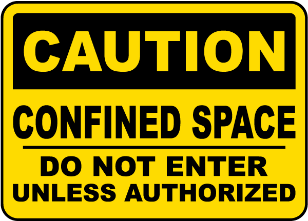Do Not Enter Unless Authorized Sign