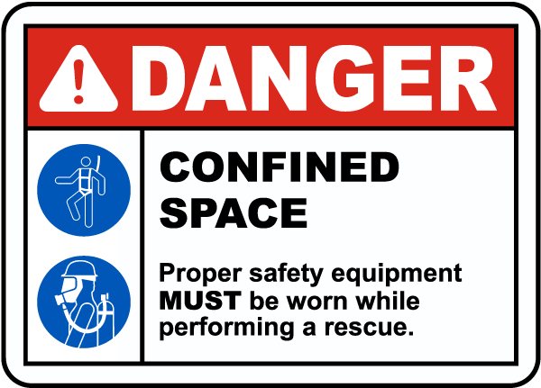 Safety Equipment Must Be Worn Sign