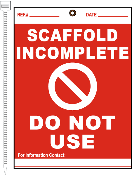 Scaffold Incomplete Do Not Use Tag