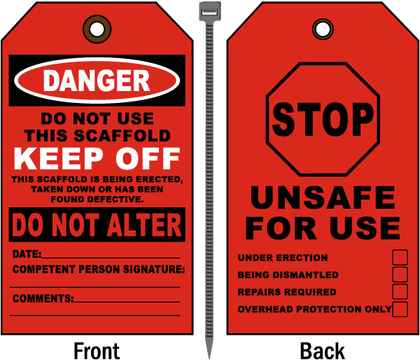 Do Not Use This Scaffold Tag
