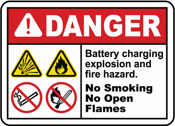 explosion and fire hazard sign e4627 by safetysigncom