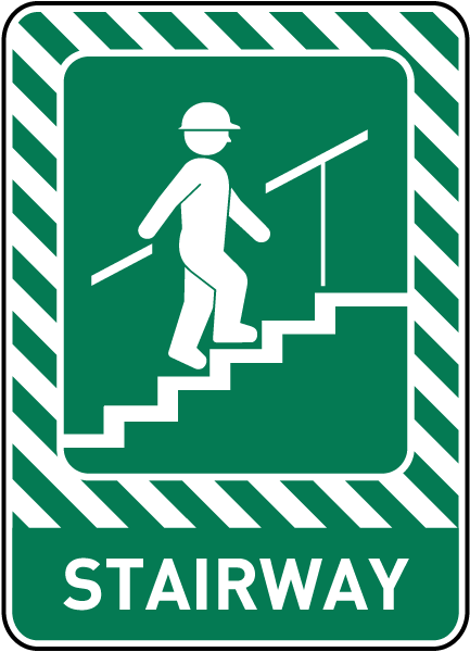 Stairway Sign