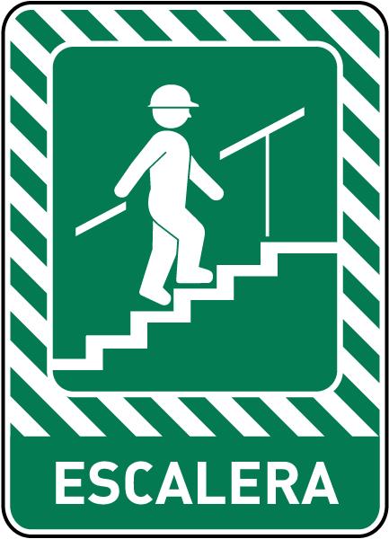 Spanish Stairway Sign