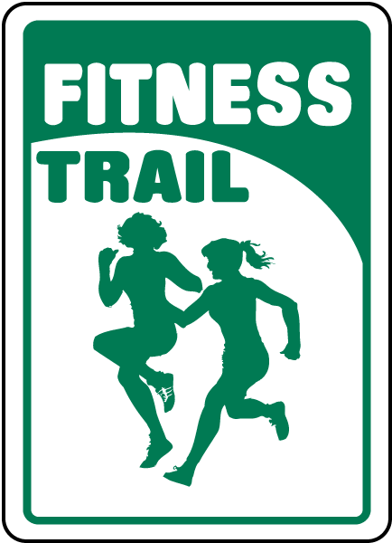 Fitness Trail Sign