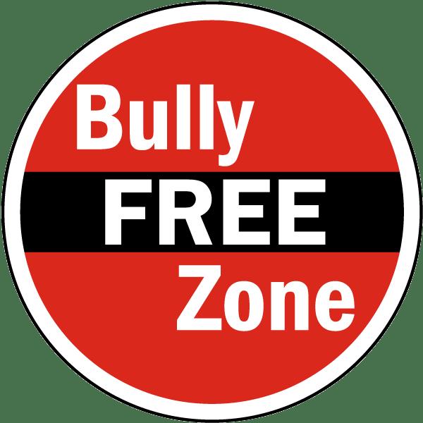 Bully Free Zone Label