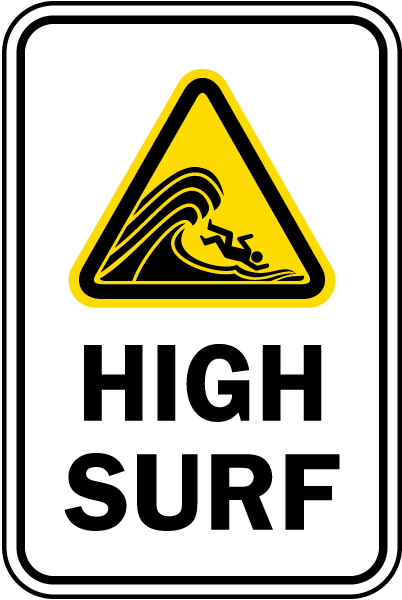 High Surf Sign
