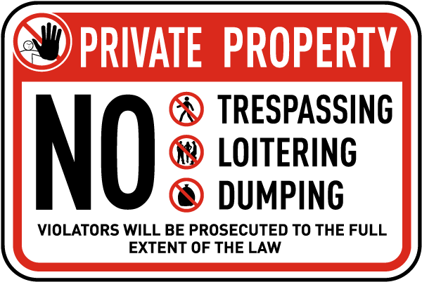 Law On Dumping On Private Property