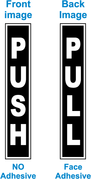 Push Pull Label