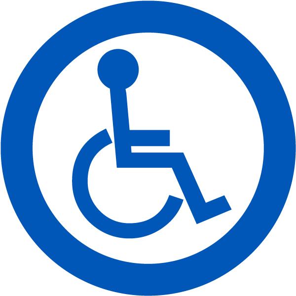 Handicap Accessible Label