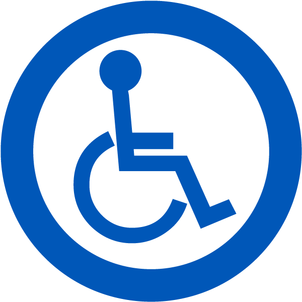 Handicap Accessible Label