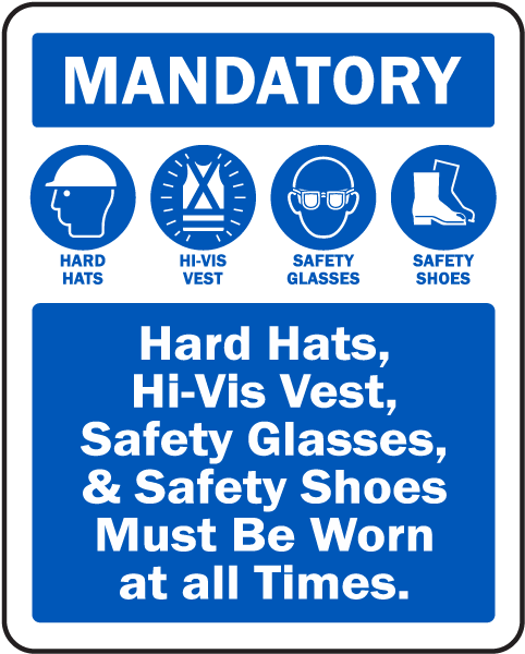 Mandatory Ppe Sign G2616 By Safetysign