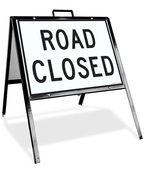 Road Closed Sandwich Board Sign