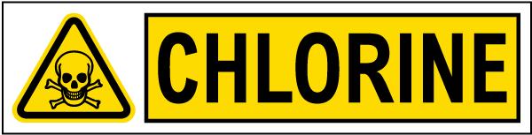 Chlorine Warning Label