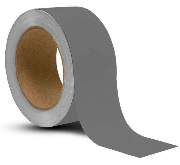 Grey Vinyl Floor Marking Tape