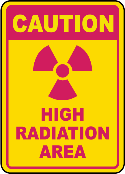 Caution High Radiation Area Sign H1402  By Safetysignm. Red Speckled Signs. Dysmorphic Disorder Signs. Strike Signs. Osha Signs. Injected Signs. March 18 Signs. Homework Signs Of Stroke. Arsenic Poisoning Signs