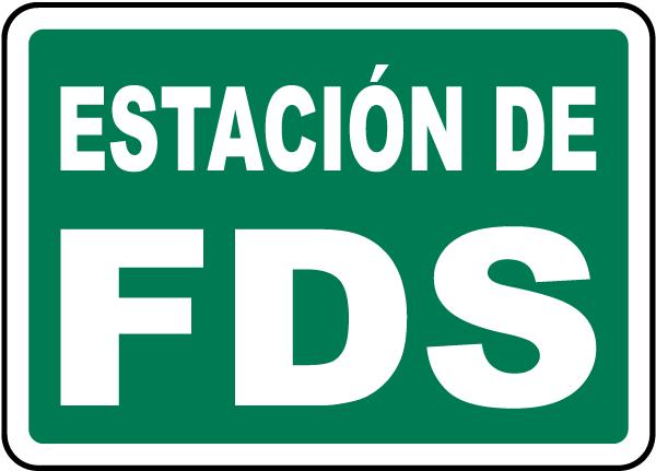 Spanish SDS Station Sign