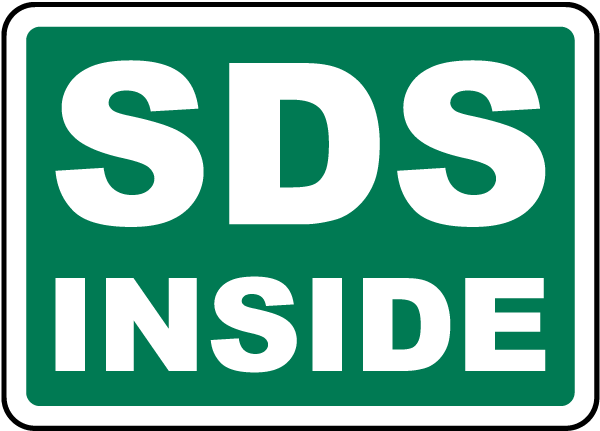 SDS Inside Sign