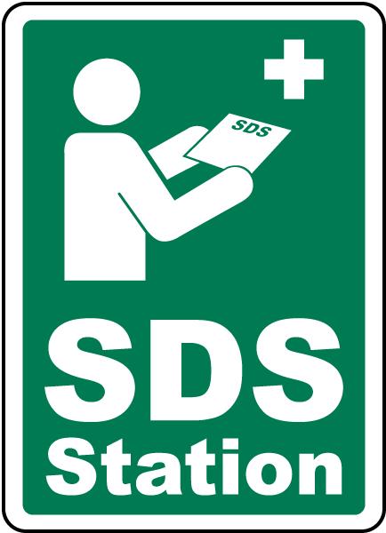 SDS Station Sign