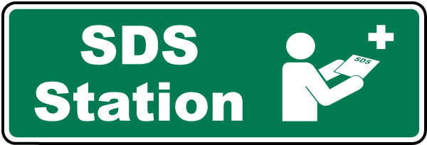 SDS Station Sign