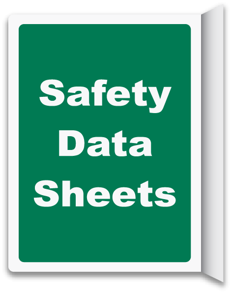 2-Way Safety Data Sheets Sign