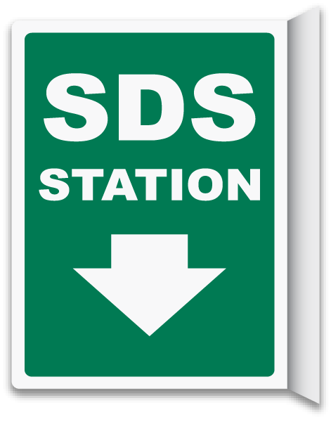 2-Way SDS Station Sign