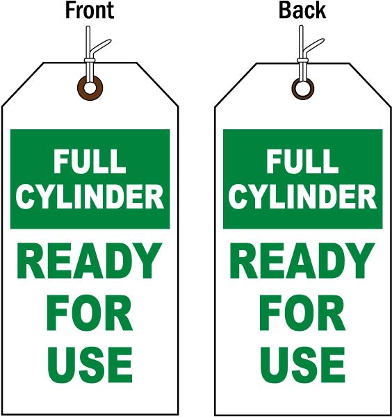 Full Cylinder Status Tag