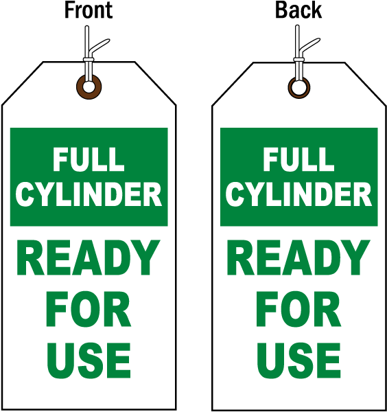 Full Cylinder Status Tag