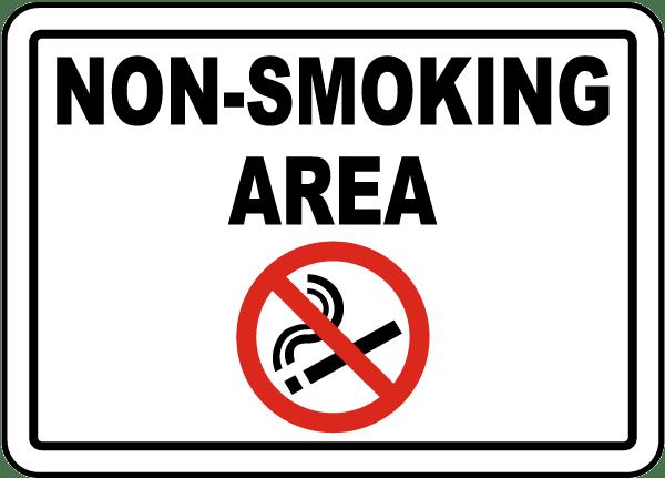 no smoking sings