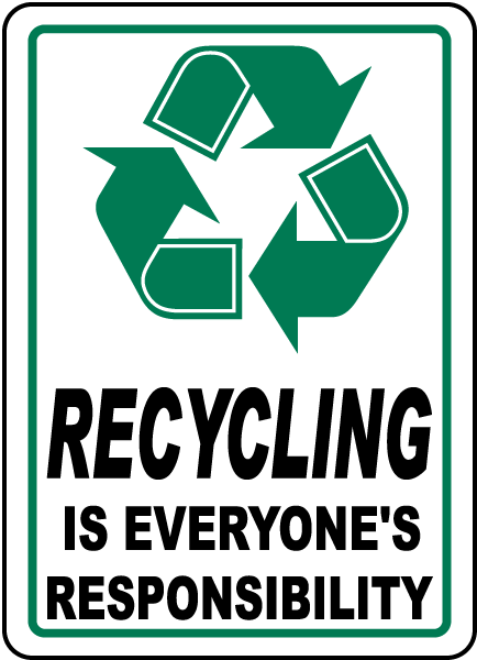 Everyone's Responsibility Label