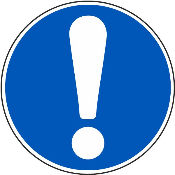 General Mandatory Action Label