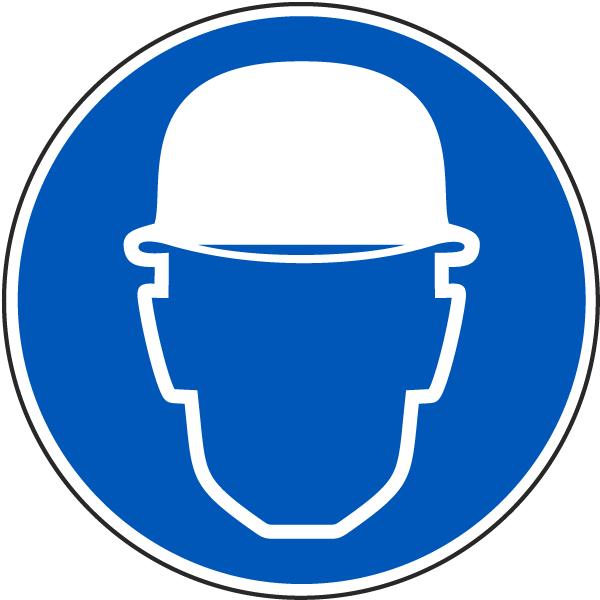 Wear Hard Hat Label