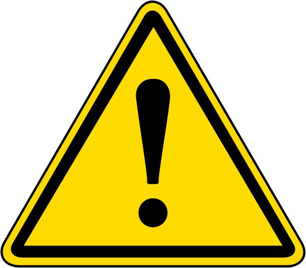 General Warning Label
